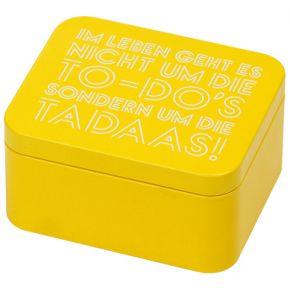 Geschenkbox | Colour Splash, Gelb