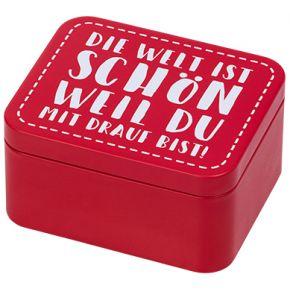 Geschenkbox   Colour Splash, Rot