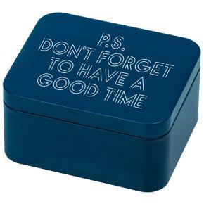 Geschenkbox, Blau