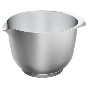 Rühr- und Servierschüssel, Edelstahl, 2 Liter