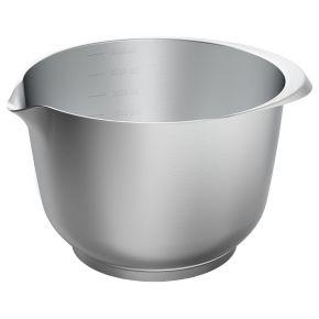 Rühr- und Servierschüssel, Edelstahl, 3 Liter
