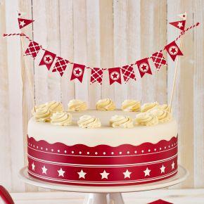 Cake Deco-Set | Sterne, 4-tlg.