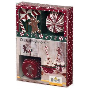 CupCake Deco-Set | Candy Christmas
