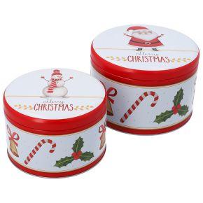 Gebäckdosen-Set, gross | Merry Christmas 2020