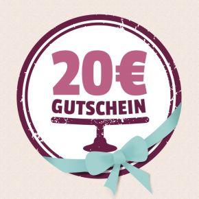 Gutschein 20,00 EUR