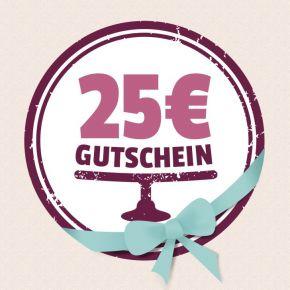 Gutschein 25,00 EUR