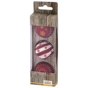 Mini-Muffin-Papierförmchen | Little Christmas, Stern