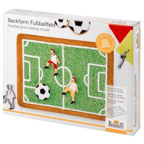 Motivbackform | Fußballfeld