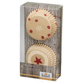 Muffin-Papierförmchen | Little Christmas I