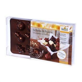 Pralinen- und Schokoladenförmchen | Weihnachten