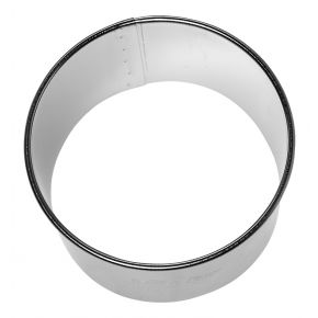 Profi-Ausstechform | Kreis, glatt, Ø 8 cm