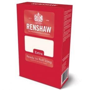 Renshaw Rolled Fondant Extra 1kg -White-
