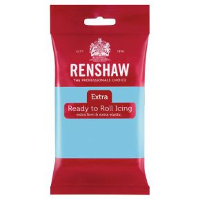 Renshaw Rollfondant Extra 250g -Baby Blue-