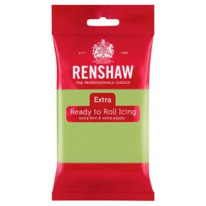Renshaw Rollfondant Pro 250g -Pastel Green-