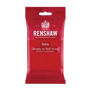 Renshaw Rollfondant Extra 250g -Red-