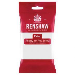 Renshaw Rollfondant Extra 250g -White-