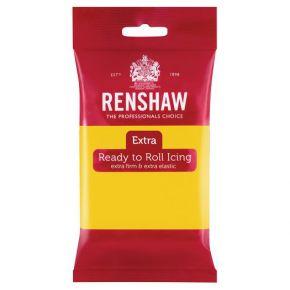 Renshaw Rollfondant Pro 250g -Yellow-