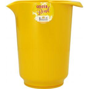 Rühr- und Servierschüssel, Gelb, 1,5 Liter