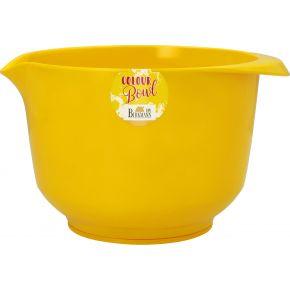 Rühr- und Servierschüssel, Gelb, 2,0 Liter