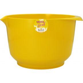 Rühr- und Servierschüssel, Gelb, 4,0 Liter