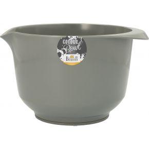 Rühr- und Servierschüssel, Grau, 2,0 Liter