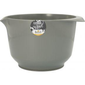 Rühr- und Servierschüssel, Grau, 3,0 Liter