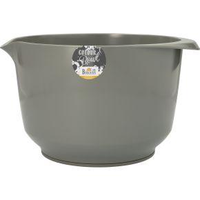 Rühr- und Servierschüssel, Grau, 4,0 Liter