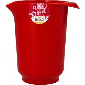 Rühr- und Servierschüssel, Rot, 1,0 Liter