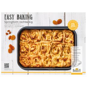 Springform eckig, 34 x 23,5 cm | Easy Baking