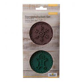 Stempel-Set   Gingerman & Snowflake