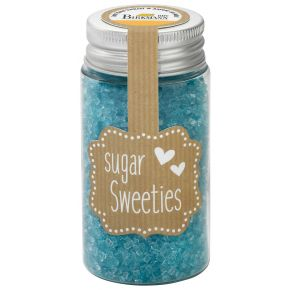 Zuckerkristalle | Hellblau