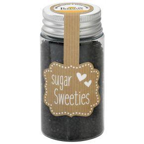 Zuckerkristalle | Schwarz