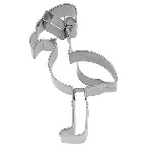Ausstechform | Weihnachts-Flamingo, 10 cm