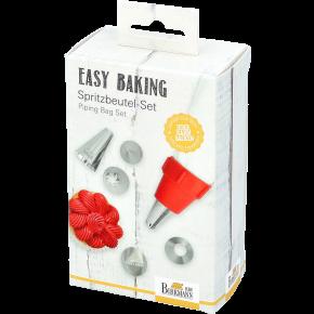 Spritzbeutel-Set, 8-tlg. | Easy Baking