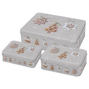 Gebäckdosen-Set   Christmas Cookies
