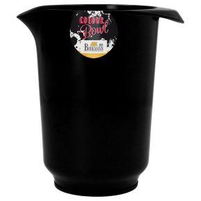 Rühr- und Servierschüssel, schwarz, 1 Liter