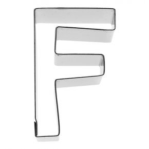 Buchstabe F, 6 cm