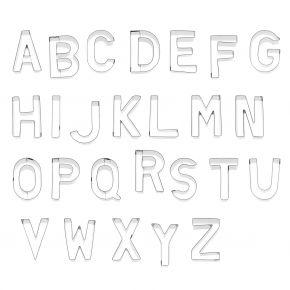 Buchstaben-Set   A-Z, je 6 cm   130 tlg.
