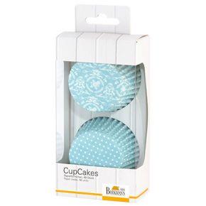 CupCake-Papierförmchen | Flower-Ornament