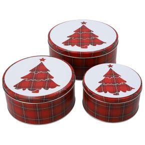Gebäckdosen-Set   Scotch Christmas