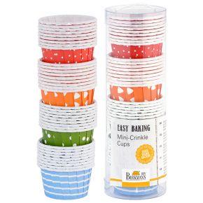 Mini-Crinkle Cups | Easy Baking, gemustert