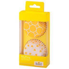 Muffin-Papierförmchen | Colour Kitchen, Gelb