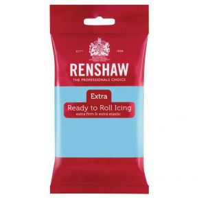 Renshaw Rollfondant Extra 250g -Baby Blue-
