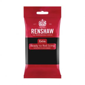 Renshaw Rollfondant Extra 250g -Black-