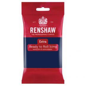 Renshaw Rollfondant Pro 250g -Navy Blue-