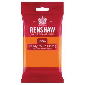 Renshaw Rollfondant Extra 250g -Orange-