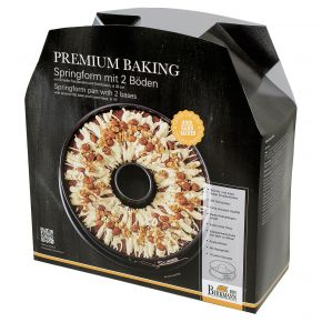Springform mit zwei Böden, 26 cm   Premium Baking