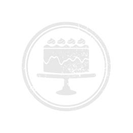 Buchstaben-Set | A-Z, 2,5 cm | Dose Ø 12 cm | 26-teilig