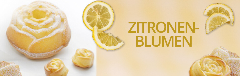 Rezept für Zitronenblumen