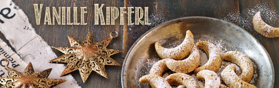 Rezept für klassiche Vanille Kipferl